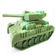 Army Green Tank Cannon Model Miniature 3D Hobbies Kids Educational Gift  Toy CN