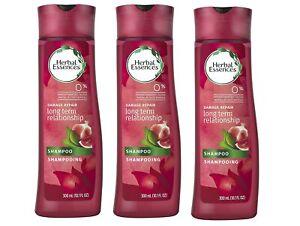 Herbal Essences Long Term Relationship Damage Repair Shampoo 12 oz - 3 Pack