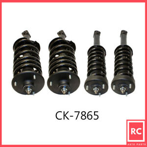 Front & Rear Air Spring to Coil Spring Conversion Kit Fit 05-09 Land Rover LR3