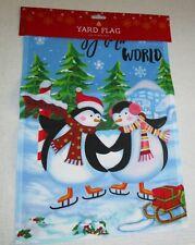 "Christmas Decorative Yard Flag 12""x 18"" Joy To The World"