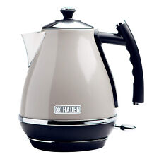 Haden Cotswold 1.7 Liter Stainless Steel Electric Kettle, Putty Beige (Open Box)