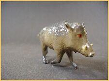 BF Sanglier, Animaux du Zoo ou du Cirque, plomb creux (antique toys)