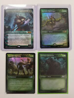 MTG - M21 - Garruk, Unleased Planeswalker Set Harbinger Uprising Gorehorn