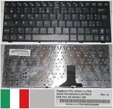 Tastiera Qwerty Italiana ASUS EeePc 1005PEB 04GOA1L2KIT00-3 9Z.N4QSU.10E Nero