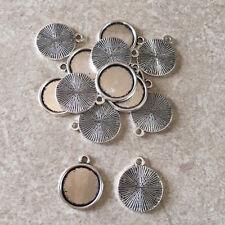 Cabochon pendant setting - make your own pendant - 10 sets