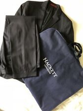 Hackett Mayfair 40R Navy Chalk Stripe 2-pièce Costume Homme