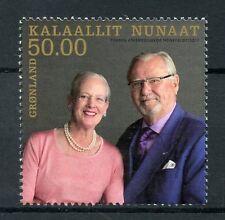 Greenland 2017 MNH Royal Golden Wedding Queen Margrethe II 1v Set Royalty Stamps