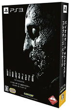 PS3 Biohazard HD Remastered Collector's Package Limited Guidebook+Map Capcom New