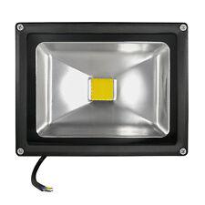 LED Außenfluter Außenstrahler LED Flutlicht COB LED Fluter - 30 Watt Warmweiss