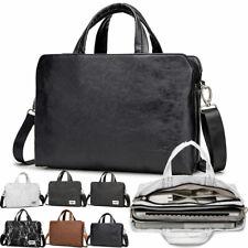 "Waterproof Notebook Shoulder Case 13""- 15"" Laptop Sleeve Briefcase Messenger Bag"