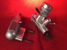 Os 25 S F Abc C/L Engine This Is Large Venturi Model With Stock Muff Excellent