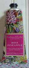 Crabtree & Evelyn - Rose Pineapple - Hand Therapy Cream Limited Edition 3.4 Oz