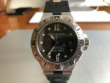 Men Bvlgari Diagono Professional Scuba Diving  Chronometer 40 cm