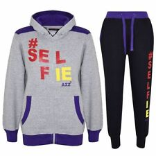 Vêtements de sport gris en polyester pour garçon de 2 à 16 ans