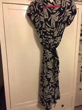 Whistles Wrap Around Dress Size 16 ( New Without Tags)