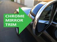 BIMMER00-08 2x Black Universal Side Mirror Rain Guard Sun Visor Shade Shield