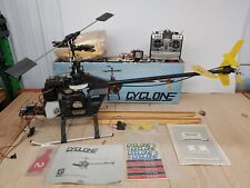 Vintage KALT Cyclone RC Helicopter NEVER Finished or Flown with box and radio!