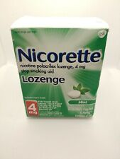 Nicorette Lozenge, Mint , 4mg, 72 Count EXPIRATION DATE 07/2019