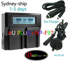 DC Battery Charger for Sony NP-F330 F530 F550 F570 F750 F770 F930 F950 F960 F970