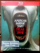 COFFRET 3 BLU-RAY Neuf S/Blister-American Horror Story:Freak Show-Saison 4-ABC