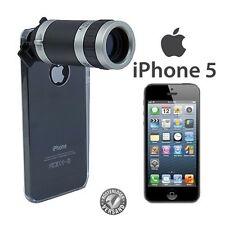 Telescope para Apple iPhone 5 5s se cámara accesorios objetivamente funda 8x, funda protectora de zoom