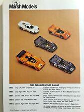 RARE Marsh Models 1/43 Kit - MM7, 1968 Can Am Penske McLaren M6B  Mark Donohue
