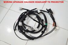 UPGRADE HEAD LIGHT TO LED PROJECTOR PAIR HARNESSES WIRING ISUZU D-MAX 1.9 3.0