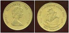 est CARAIBES  1  one dollar 1981  ( bis )