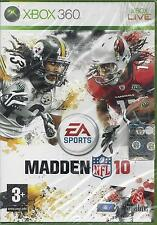 Xbox 360 Madden NFL 10 New Sealed Import Pal