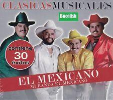 El Mexicano Mi Banda el Mexicano Clasicas Musicales 30 exitos 2CD New Nuevo