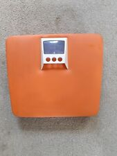 Vintage Retro 1970's Mechanical Bathroom Scales Orange