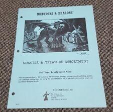 Monster & Treasure Assortment - Set Three: Levels Seven-Nine Dungeons & Dragons