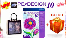 Brother Pe Design 10 | Embroidery Full Software 2020 + Free Gifts Instant 🔥