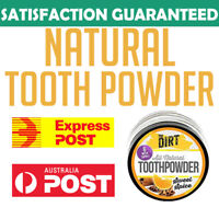 The Dirt All Natural Whitening Tooth Powder Onnit MCT Toothpaste JRE Rogan