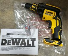 New Dewalt DCF620 20V XR li-ion Brushless Max Cordless Drywall Screwgun toolonly