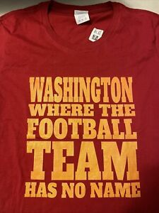 Washington Football Team - Funny Tshirt Has No Name - Women's Size M
