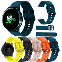Silicone Sport Watch Band Strap Bracelet For Samsung Galaxy Watch Active 40mm