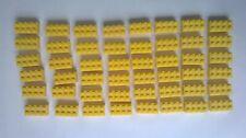 Lego VINTAGE Blocks x 48 1950s / 1960's YELLOW PAT. PEND.