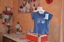 tee shirt neuf tartine et chocolat 6 mois marine summer tartine