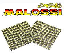 Foglio MALOSSI Karbonit per fabbricazione della Lamella Valvola set di 2 NUOVO