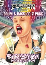 Fusion -Drum & Bass 7 CD  Pack
