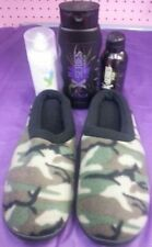 Camouflage Memory Foam Slippers Gift Set