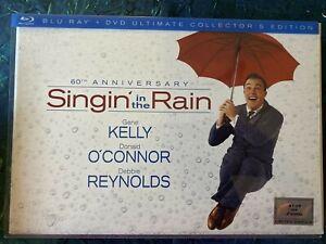 60th Anniversary Singin' In The Rain Blu Ray + DVD Ultimate Collectors Edition