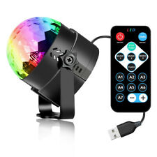RGB LED Color Light Ball for DJ Club Disco KTV Party Bar Stage Sound Activated