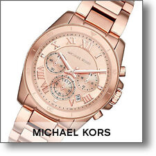 Michael Kors Women's Chronograph Brecken Rose Gold Tone Steel Watch 40mm MK6367