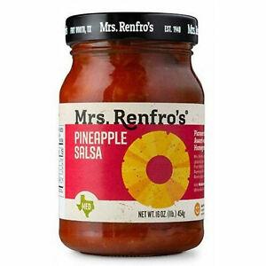 Mrs Renfro's Pineapple Salsa Jalapeno Peppers  454g