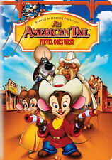 An American Tail: Fievel Goes West (DVD,1991)