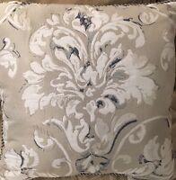 """Croscill Natalia 18"""" Square Decorative Pillow - New"""