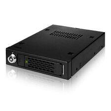 "ICY DOCK ToughArmor MB991IK-B 2.5"" SATA SAS HDD SSD Full Metal 3.5"" Mobile Rack"