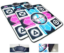 2 X  Dance Revolution DDR Mats Pads 4 PlayStation PS1 PS2